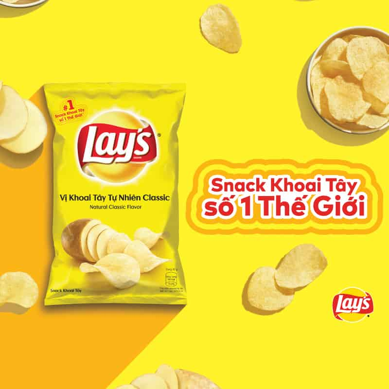Potato snack poca will officially become Lay's in Viet Nam in 2019